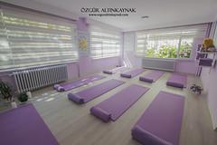Yoga Academy Bursa 2016 - 1 (ozgur_altinkaynak) Tags: indoor yoga centre bursa turkey relax comfortable purple towel windows sun light white