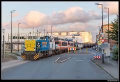 LC 1505 + 9901 + 9905 - Vopak Vlaardingen (Spoorpunt.nl) Tags: 5 1600 juli 9900 vlaardingen vopak zans 9905 bediening 9901 2016 rotonde koningin 1505 vtg wilhelminahaven locon ketelwagens g1206 vulcaanweg