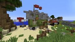 First Tiny House (Gabby Green-Dragon) Tags: house tiny paredise minecraft