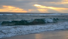 At Rosarito Beach Stunning Sunset. (El Lemus) Tags: california sunset urban naturaleza sun sol beach nature america mexico atardecer sand paradise waves walk arena bajacalifornia urbano baja atardeceres peninsula rosarito olas urbanity urbanidad rosaritobajacalifornia