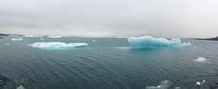 Jkulsrln lagoon panorama (caseglb) Tags: east iceland southiceland ice glacier iceberg cold jokulsarlon lagoon jokulsarlonlagoon landscape nature panorama hofn lake reykjavik