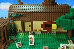 Lego Paper Mario 64 Goomba village MOC (pabloska_ebububbu) Tags: lego paper mario 64 goomba village supermari papermario legopapermario sets goompa goombario goombaria goombmama goompapa wii u pabloska edububbu mrio maker super color splash legomariokart kart