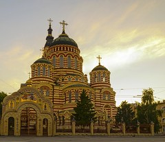 Cathedral of the Annunciation (Aspius) Tags: cathedral kharkov church patriarchate bell tower orthodox ukraine temple faith religion sight attraction town city architecture art adeptness orthodoxy