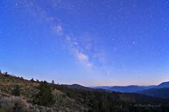 The night begins (trifeman) Tags: 2016 california mono july canon 7d canon7dmarkii milkyway sierra sierranevada hwy89 monitorpass tokina tokina1116mm