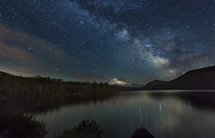 Milky Way over Lost Lake (Mt Hood NF, OR) (Sveta Imnadze.) Tags: nature oregon stars landscape nightsky lostlake milkyway mthoodnf