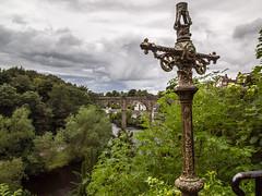 Knaresborough Castle (mister_wolf) Tags: castle cross knaresborough northyorkshire viaduct england unitedkingdom