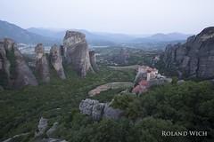 Meteora - Rousnou Monastery (Rolandito.) Tags: greece hellas grce griechenland grecia meteora sunrise rousnou kloster monastery