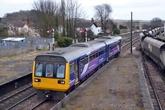 142017 - Barnetby (AJHigham) Tags: station sheffield rail class via service northern nr 142 cleethorpes pacer dmu brigg barnetby 142017
