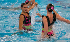 O5084226 (roel.ubels) Tags: swimming european ek alexander championships willem hoofddorp synchronised ec synchro synchronized syncronized 2015 sincro synchroonzwemmen leneuropeansynchronisedswimmingchampionscuphaarlemmermeer2015 europeanchampionscup2015
