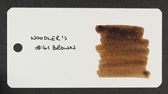 Noodler's #41 Brown - Word Card