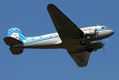 PH-PBA_06 (GH@BHD) Tags: vintage aircraft piston vin klm douglas dc3 dakota airliner c47 dda bhd propliner royaldutchairlines belfastcityairport dutchdakotaassociation phpba