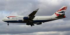 British Airways Boeing 747-436 G-CIVA (2) (Mark 1991) Tags: london heathrow boeing britishairways 747 lhr heathrowairport 747400 londonheathrow gciva