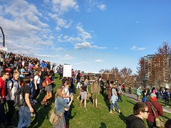 Minneapolis rally and march to support the people of Baltimore (Fibonacci Blue) Tags: twincities rally march demonstration event blacklivesmatter minnesota freddie gray baltimore police brutality sky blue activism activist kill mpls minneapolis protest protesting protester