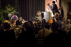 mongolian impro committee + tetuzi akiyama + ko ishikawa (Sub Jam) Tags: japan concert performance event miji artlounge multipletap meridianspace
