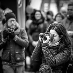 Female photographer (Michael Erhardsson) Tags: female politik fotograf photographer action 1a maj rebro 2015 frsta vnsterpartiet kvinna solidaritet repotage arbetarrrelsen fotografera rttvisa kvinnligt demonstrera jouranlism vnsterpolitik