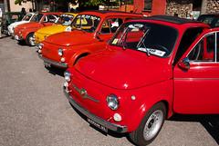 Un sacco di Fiat 500 (maximilian91) Tags: italy italia fiat liguria oldcars vintagecars fiat500 autobianchi abarth italiancars fiat500l montoggio fiat500giardiniera fiat500abarth autobianchibianchina autobianchibianchinapanoramica