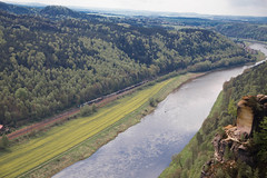 Spring @ River Elbe (scuthography) Tags: blue river photo fantastic foto saxony may elbe 2015 saxonswitzerland flickrglobal kathrinschild