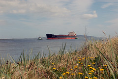 "China Ocean shipping ' Yuan Hui Hai"" (Longreach - Jonathan McDonnell) Tags: china ireland howth dublin tugboat tug shackleton beaufort dublinport bulkcarrier cosco dsc6633 yuanhuihai chinaoceanshippinggroupcompany imo9295189"