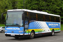 Bakers Dolphin no. 005 : JHZ4395 (Buses and Trucks) Tags: volvo vanhool alizee t9 bakersdolphin b10m62 jhz4395