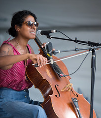 2016 Leyla McCalla,  Fest International, Lafayette, Apr 24-4791 (cajunzydecophotos) Tags: lafayette 2016 festivalinternationaldelouisiane leylamccalla