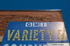 Variety For Sale (JeffStewartPhotos) Tags: toronto ontario canada sign store forsale stclair bluesky signage photowalk varietystore westonroad torontophotowalk topw torontophotowalks topwsc