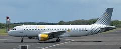 Airbus A320: 3203 EC-KHN A320-216 Vueling Newcastle Airport (emdjt42) Tags: airbus a320 newcastleairport vueling eckhn