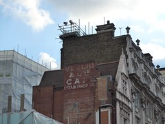 Veglio & Co's Cafe (moley75) Tags: london cafe oxfordstreet tottenhamcourtroad 1854 ghostsign centrallondon revealed crossrail veglio