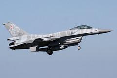 4052 General Dynamics F-16C Polish Airforce @ Leeuwarden 21-Apr-2016 by Johan Hetebrij (Balloony Dutchman) Tags: general tiger polish f16 airforce dynamics leeuwarden frisianflag 4052 f16c