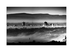 Photo of Misty Manchester Morning