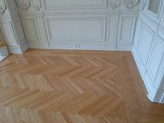 Herringbone Floors (SuperiorFloors) Tags: floors oak lakegeorge flooring redoak hardwood herringbone