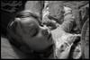 11th of February 2016 (Paul of Congleton) Tags: sleeping blackandwhite girl monochrome digital child sony katie diary katherine february asleep 2016 myeverydaylife rx100 evensmallerperson