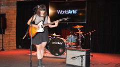 Laura Jean Anderson Live on the WorldArts Stage