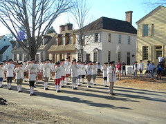 Williamsburg VA: Fife and Drum Corps (Chuck & Alice Riecks) Tags: art virginia colonialwilliamsburg militaryhistory colonialamerica