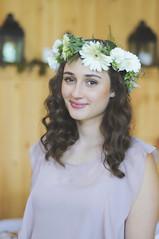 (irina_kra) Tags: life flowers wedding light people white love beautiful woods vermont veil rustic young naturallight weddingdress weddingphotography weddingbouquet flowercrown nikond300
