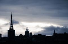 Skyline over Stockholm (kaffealskare) Tags: skyline sweden stockholm globen sder riddarholmen attackfoto