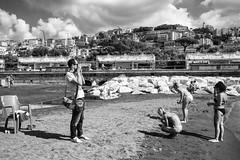 McIntosh, the hunter (michele liberti) Tags: friends bw italy beach photographer streetphotography napoli naples monocrome streetphotographer summer2016