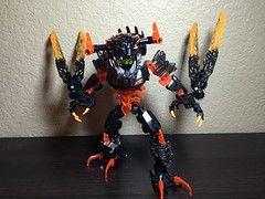 MOD: Lava Beast - 10 (stubs4limbs) Tags: bionicle ccbs stubs4limbs lego moc