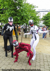 MCM COMIC CON 2016-1871 (cameraview4u121) Tags: canon photography costume comic expo cosplay entertainment fantasy superhero scifi carnage heroes marvel fancydress con cosplayers venom mcm 2016 mcmexpo londonmcm mcmlondon spidergirls mcmexcel mcmlondon2016