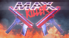Max Killer (Danno KaBlammo) Tags: max vintage movie action retro killer 80s danny bourque outrun glitchblack