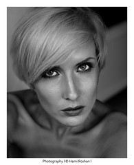 Portrait I (hami roshan) Tags: portrait white black berlin photography photo eyes emotional hamiroshan
