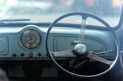 before too long (keith midson) Tags: old car vintage tasmania derelict steeringwheel newnorfolk
