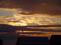 Sunset 5 (Saf37y) Tags: sunset sea silhouette clouds coast scotland seashore gardenstown gamriebay