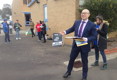 Found: Liberal candidate Kevin Hong - Polling day in Fawkner #Wills2016 #Ausvotes (John Englart (Takver)) Tags: party election australia melbourne wills liberal candidates fawkner ausvotes ausvotes2016 wills2016