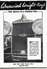 1929 Stutz Vertical Eight Front End (U.K. Ad) (aldenjewell) Tags: uk vertical ad front end wright warwick eight 1929 stutz