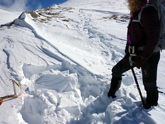 """Snow pit reveals unstable snow conditions • <a style=""""font-size:0.8em;"""" href=""""http://www.flickr.com/photos/41849531@N04/17182863038/"""" target=""""_blank"""">View on Flickr</a>"""