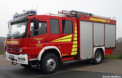Atego fire truck (The Rubberbandman) Tags: light rescue white truck germany mercedes benz box small transport engine german atlas delivery vehicle van emergency department freight airfield 508 ganderkesee atego 508d