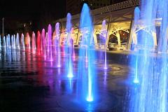 Bicentennial Mall Fountains at night (SeeMidTN.com (aka Brent)) Tags: statepark fountain tn nashville tennessee fountains dancingwaters bicentennialmall bmok