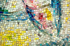 Fragments (Andy Marfia) Tags: chicago art public 35mm iso100 loop mosaic tiles fourseasons chagall f4 marcchagall 11600sec d7100