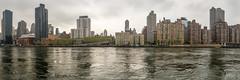 NYC Skyline (Bruce Livingston) Tags: nyc panorama skyline architecture eastriver rooseveltisland nikon3570mmf28d d800e
