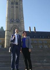 Walking out of Centreblock (m.gifford) Tags: parliament openmedia parliamenthill centreblock billc51 killbillc51